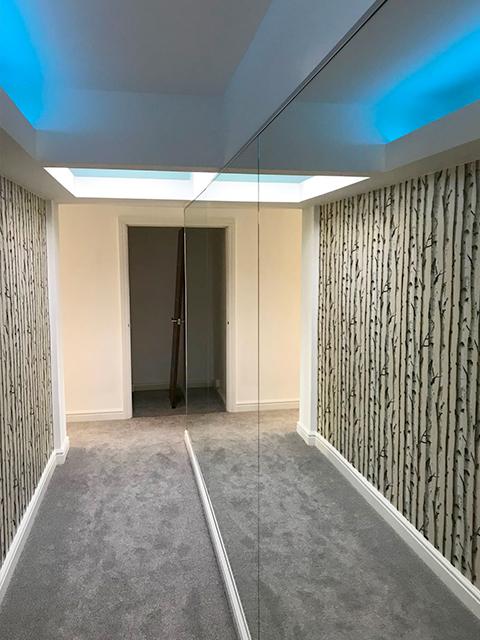 Mirrored Corridor Nottingham