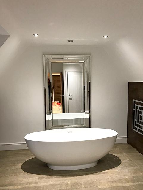 free standing bath, Nottingham