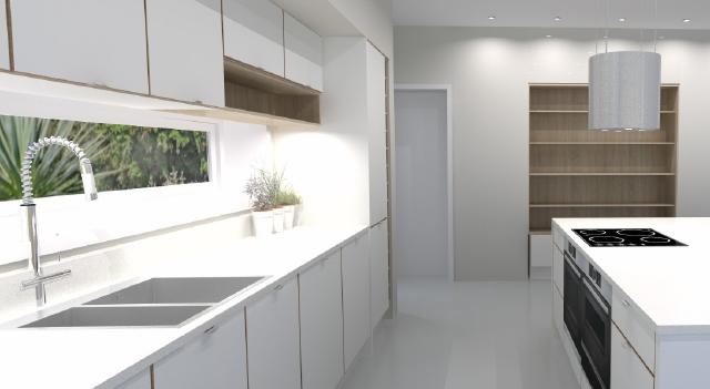 kitchen supplier Long Eaton-Modern kitchen design - kitchen island with seating Long Eaton, Nottingham
