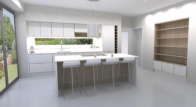 kitchen supplier Long Eaton - Modern kitchen design - kitchen island with seating Long Eaton, Nottingham
