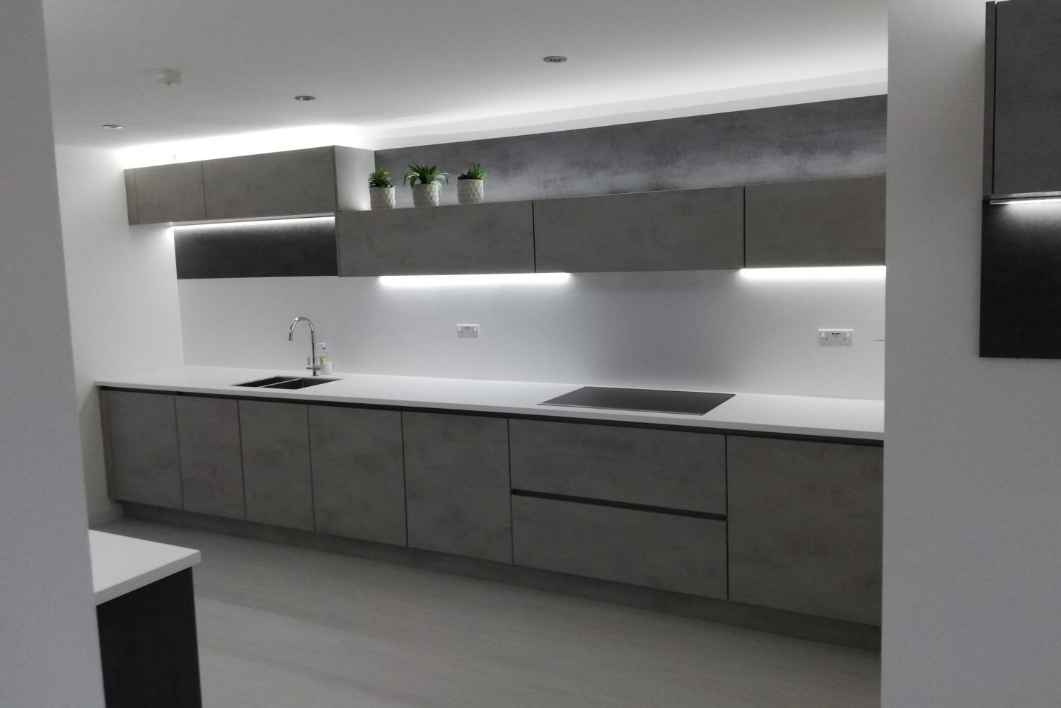 Designer kitchen Long Eaton, kitchen island