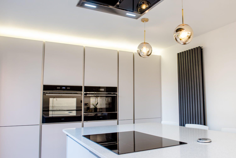 Designer kitchen long eaton handles doors - 1