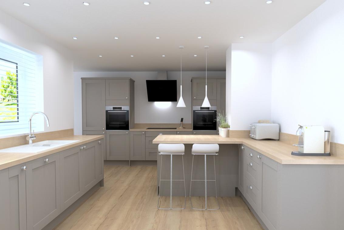 shaker kitchens Long Eaton